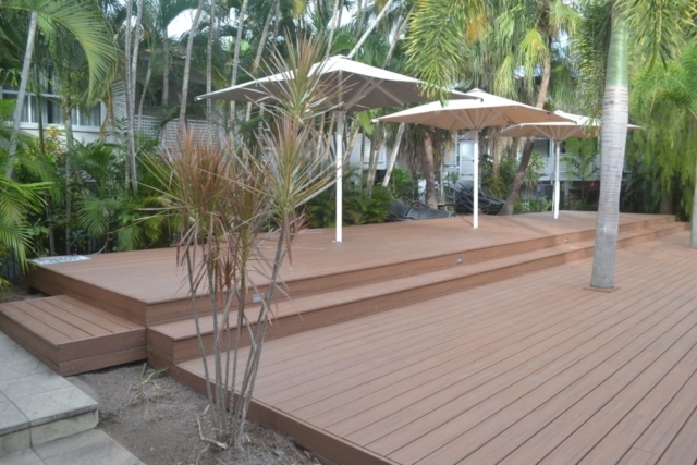 Building a Deck, Trex Decking, Resort Building